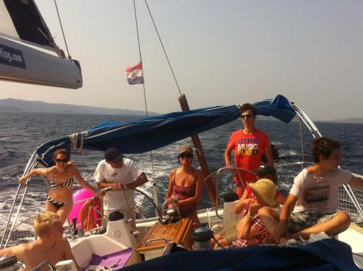 segeln in Kroatien oder Segeltörn in Dlamatien